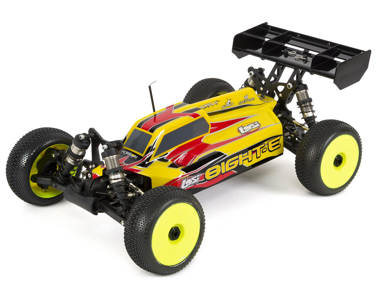 losi 8ight e 1 8 4wd electric brushless buggy rtr w dx2e 2. Black Bedroom Furniture Sets. Home Design Ideas