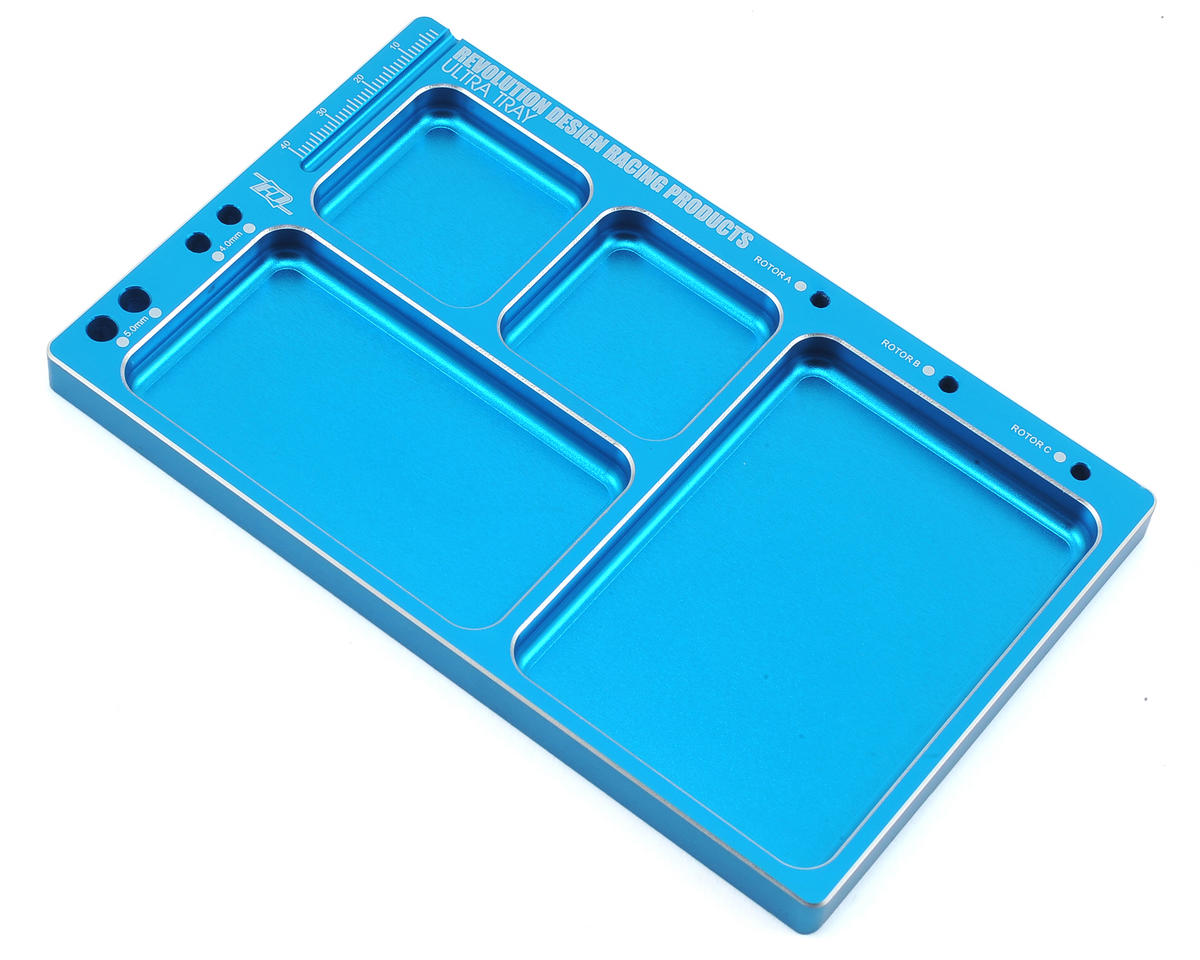 design racing products ultra parts tray light blue rdrp0182 lbl