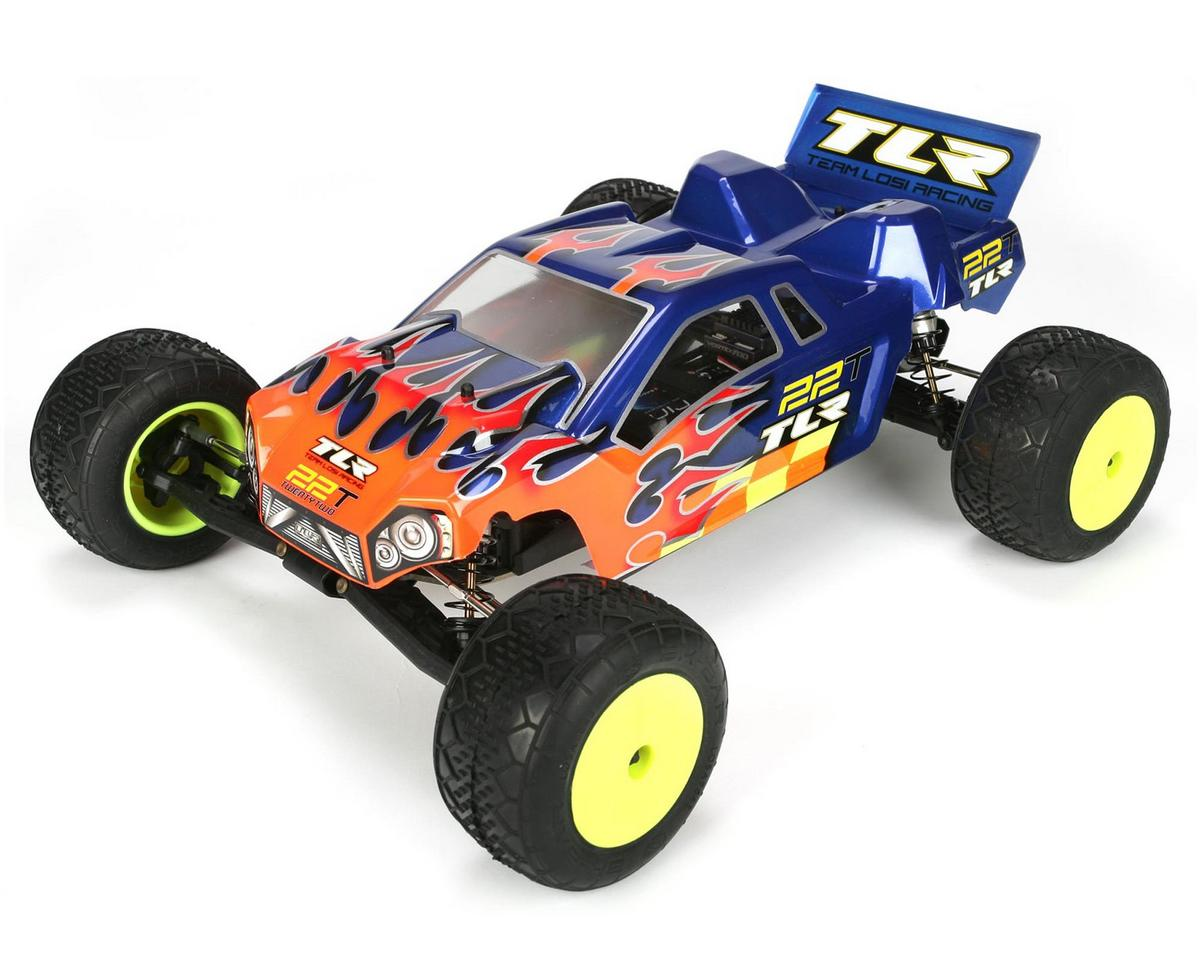 team losi racing 22t 1 10 scale 2wd electric racing truck kit tlr0023