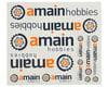 AMain Hobbies Color Sticker Sheet