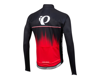 Image 2 for Pearl Izumi Elite Pursuit Thermal Graphic Jersey (True Red Rush)