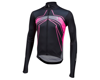 Image 1 for Pearl Izumi Elite Pursuit Thermal Graphic Jersey (Vaporize Screaming Pink)