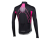 Image 2 for Pearl Izumi Elite Pursuit Thermal Graphic Jersey (Vaporize Screaming Pink)