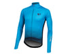 Image 1 for Pearl Izumi Elite Pursuit Thermal Graphic Jersey (Atomic Blue Diffuse) (S)