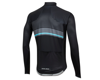 Image 2 for Pearl Izumi Elite Pursuit Thermal Graphic Jersey (Black/Smoked Pearl Diffuse)