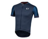 Pearl Izumi Elite Pursuit Graphic Short Sleeve Jersey (Navy Stripe) (XS)