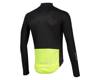 Image 2 for Pearl Izumi PRO Pursuit Long Sleeve Wind Jersey (Black/Screaming Yellow) (XL)