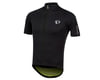 Image 1 for Pearl Izumi PRO Pursuit Wind Jersey (Black/Screaming Yellow) (S)