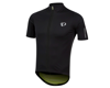Image 1 for Pearl Izumi PRO Pursuit Wind Short Sleeve Jersey (Black/Screaming Yellow) (S)