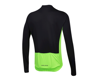 Image 2 for Pearl Izumi Quest Long Sleeve Jersey (Black/Screaming Green)