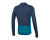 Image 2 for Pearl Izumi Quest Long Sleeve Jersey (Navy/Teal)