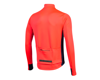 Image 2 for Pearl Izumi Interval Thermal Long Sleeve Jersey (Atomic Red/Navy)