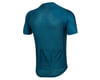 Image 2 for Pearl Izumi Men's PRO Mesh Short Sleeve Jersey (Teal/Navy Stripe) (XL)