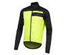 Pearl Izumi Elite Escape Barrier Jacket (Black/Screaming Yellow) (XL)