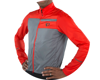 Image 4 for Pearl Izumi Elite Escape Barrier Jacket (Torch Red/Smoke Pearl) (XS)
