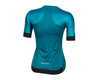 Image 2 for Pearl Izumi Women's Elite Pursuit Speed Jersey (Teal Kimono)