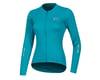 Pearl Izumi Women's Select Pursuit Long Sleeve Jersey (Breeze/Teal) (S)