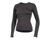 Image 1 for Pearl Izumi Women's Merino Thermal Long Sleeve Base Layer (Phantom) (S)