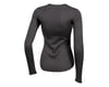 Image 2 for Pearl Izumi Women's Merino Thermal Long Sleeve Base Layer (Phantom) (S)