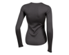 Image 2 for Pearl Izumi Women's Merino Thermal Long Sleeve Base Layer (Phantom) (XS)