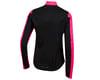 Image 2 for Pearl Izumi Women's Elite Pursuit Hybrid Jacket (Screaming Pink/Black)