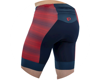 Image 3 for Pearl Izumi Elite Graphic Tri Short (Torch Red/Navy Stripe)