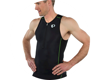Image 4 for Pearl Izumi Elite Pursuit Tri Singlet (Black/Screaming Green) (L)