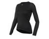 Image 1 for Pearl Izumi Women's Transfer Long Sleeve Baselayer (Black) (L)
