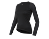 Image 1 for Pearl Izumi Women's Transfer Long Sleeve Baselayer (Black) (M)
