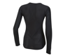 Image 2 for Pearl Izumi Women's Transfer Long Sleeve Base Layer (Black) (S)