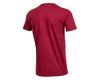 Image 2 for Pearl Izumi Organic Cotton T-Shirt (Bike Stripe Dark Red)
