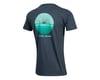 Image 2 for Pearl Izumi Organic Cotton T-Shirt (Sunset Wheel Navy) (S)
