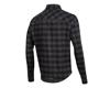 Image 2 for Pearl Izumi Rove Long Sleeve Shirt (Black/Phantom Plaid)