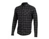 Pearl Izumi Rove Longsleeve Shirt (Black/Phantom Plaid) (XL)