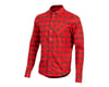 Pearl Izumi Rove Long Sleeve Shirt (Torch Red/Russet Plaid) (S)