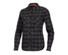 Pearl Izumi Women's Rove Long Sleeve Shirt (Black/Phantom Plaid) (S)
