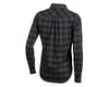 Image 2 for Pearl Izumi Women's Rove Long Sleeve Shirt (Black/Phantom Plaid) (XS)