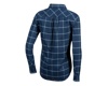 Image 2 for Pearl Izumi Women's Rove Long Sleeve Shirt (Navy/Aquifer Plaid) (M)