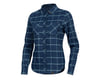 Image 1 for Pearl Izumi Women's Rove Long Sleeve Shirt (Navy/Aquifer Plaid) (S)