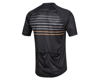 Image 2 for Pearl Izumi Canyon Graphic Short Sleeve Jersey (Black/Berm Brown Slope) (L)