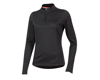 Image 1 for Pearl Izumi Women's BLVD Merino 1/4 Zip (Phantom) (XS)