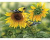 Image 1 for Cobble Hill Puzzles Cobblehill 80115 1000 pc Sunflowers and Goldfinches Puzzle, Various