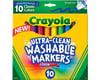 Crayola Llc Crayola Ultraclean Broadline Classic Washable Markers (10 Count)