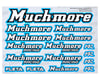 Image 1 for Muchmore Decal Sheet (Blue)