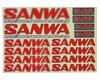 Image 1 for Sanwa/Airtronics Decal Sheet