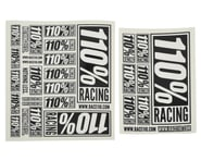 110% Racing Logo Sticker Pack (2) | alsopurchased