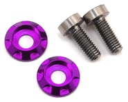 "175RC 3x8mm Titanium ""High Load"" Motor Screws (Purple) 
