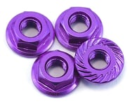 175RC Aluminum 4mm Serrated Wheel Nuts (Purple) | alsopurchased