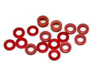 175RC B6/B74/YZ2 Aluminum Hub Spacer Set (Red) | alsopurchased