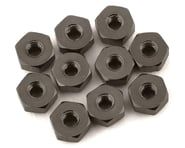 175RC Mini-T 2.0 Aluminum Nut Kit (Grey) (10) | alsopurchased
